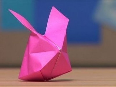 How to Make an Origami Blow Up Bunny