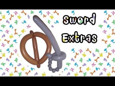 How to Make Balloon Sword Extras