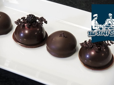 How to make chocolate tea cakes with Callebaut chocolate