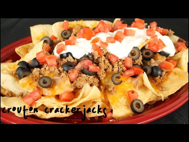 How to Make Deluxe Nachos - Homemade Nacho Supreme Recipe