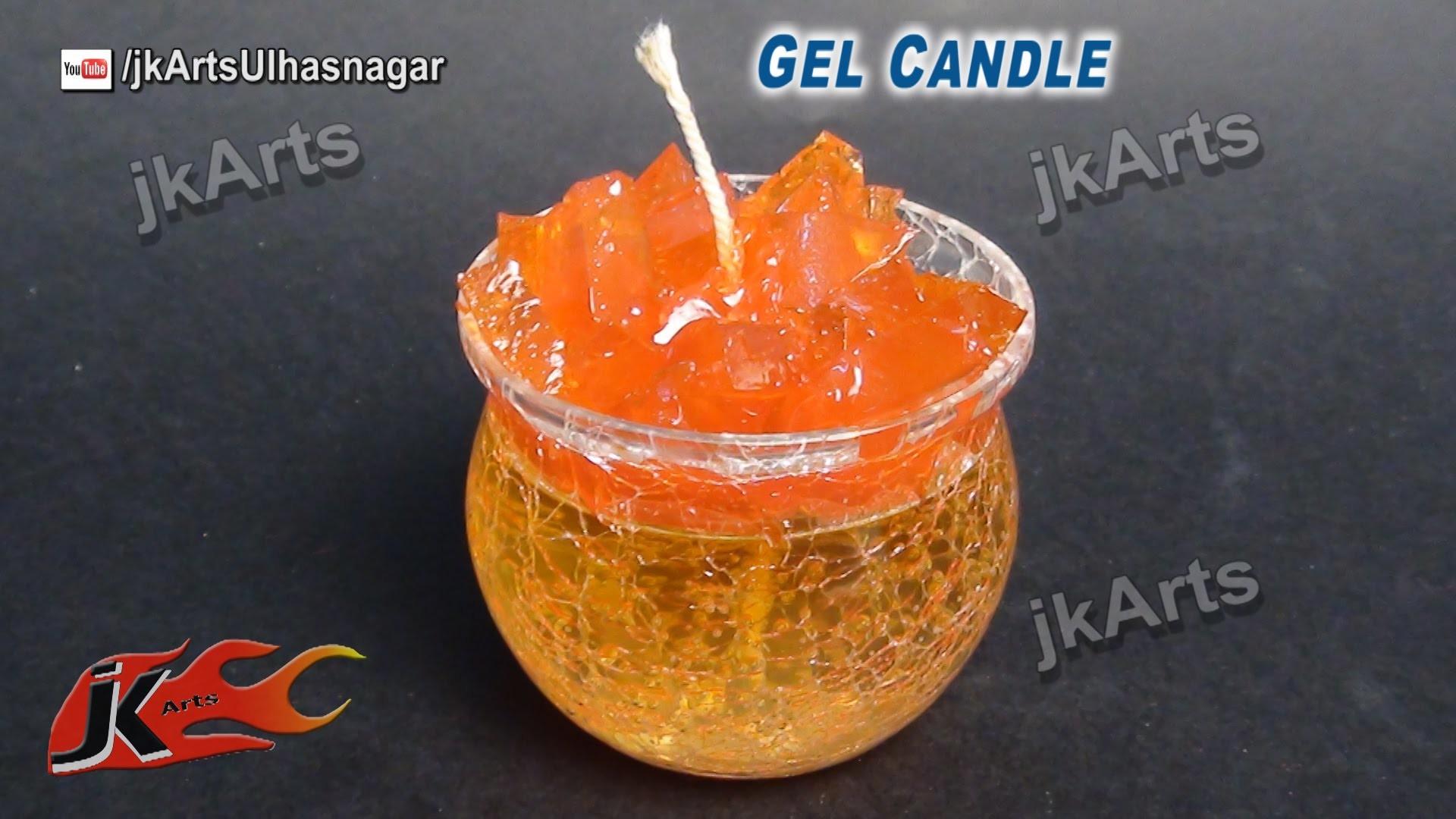 HOW TO: make Gel Candle  - JK Arts 496