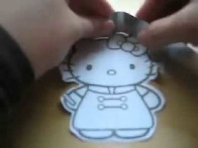 How to Make Hello Kitty Cookie Cutter