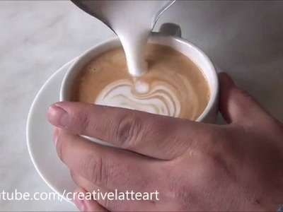 How To Make Latte Art | Tutorial 2 For Beginners