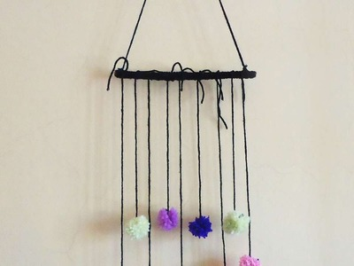 How To Make Pompom And Twig Wall Decoration - DIY Crafts Tutorial - Guidecentral