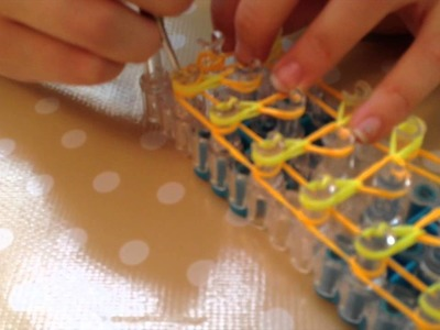 How to make Rainbow Loom Sunrise Bracelet