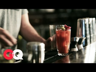 How to Make the Perfect Bloody Mary with a Pickle Juice Twist – GQ's Hangover Lab