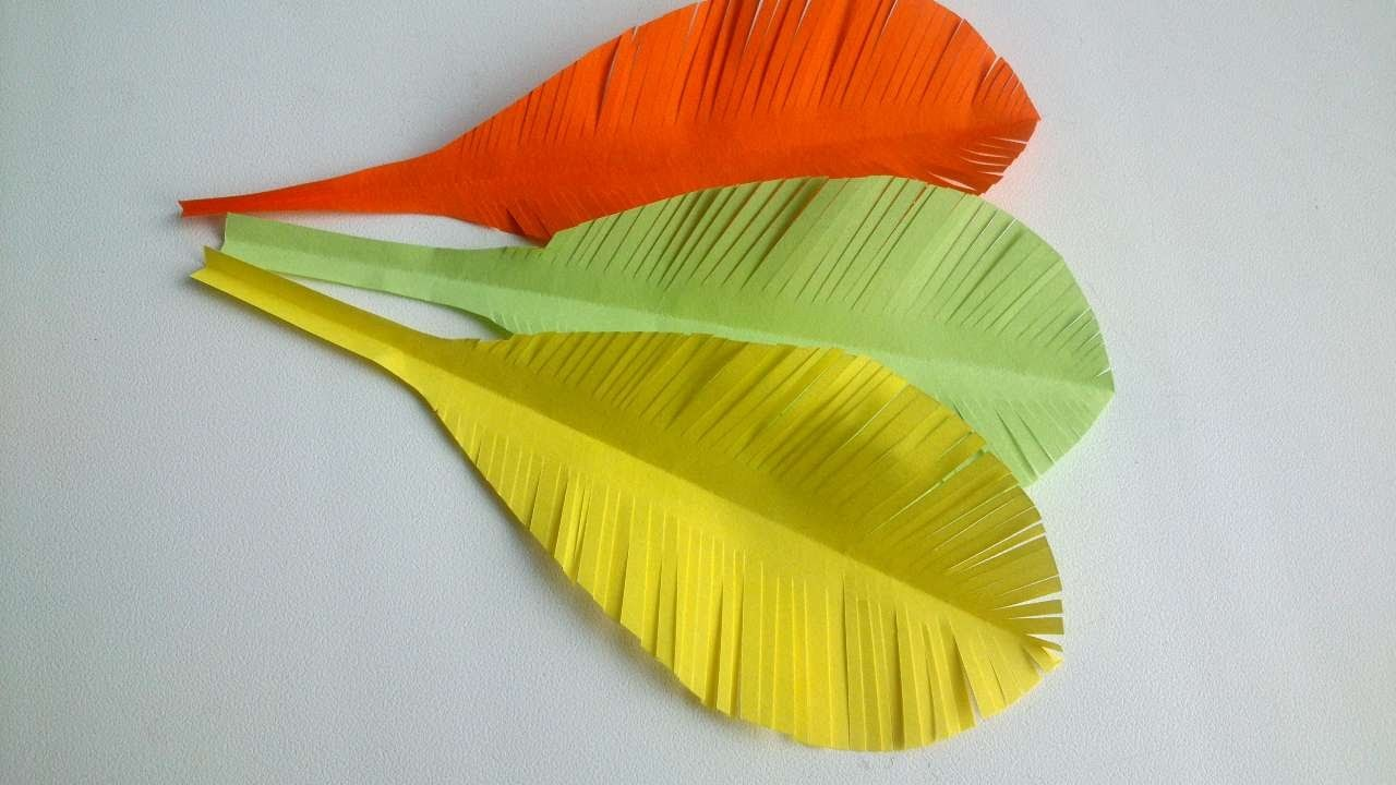 How To Making Beautiful Paper Feathers - DIY Crafts Tutorial - Guidecentral