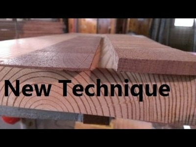 How to Plane Wood Thin, quickly