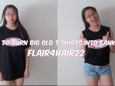 How To Turn Your Big Old T-Shirts Into Tank Tops