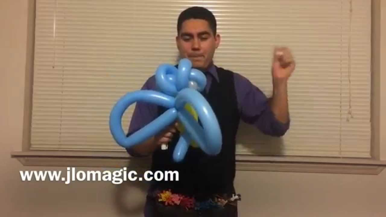 How to twist a Balloon Owl by JLO Magic & Entertainment