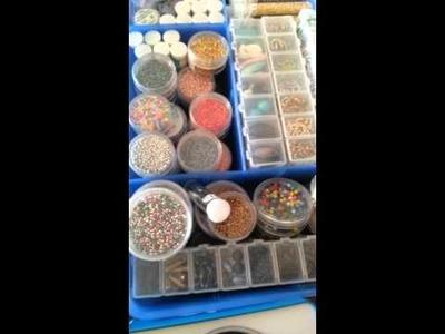 La mia scatola di perline - storage box -