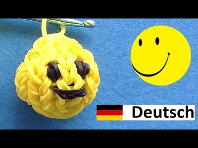 Loom Bandz Anleitung Deutsch - Smiley (Rainbow Loom Deutsch)