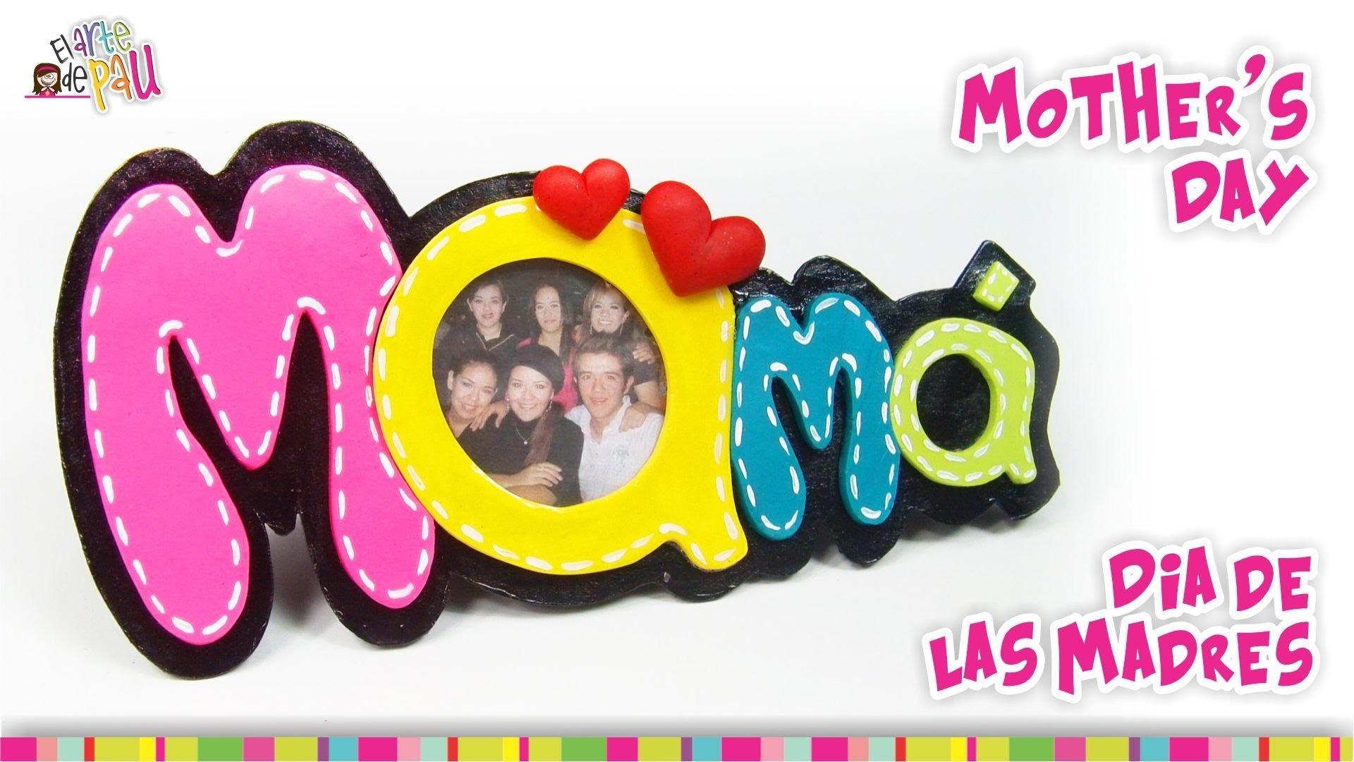 Mother's day photo frame. Portaretrato Día de las Madres
