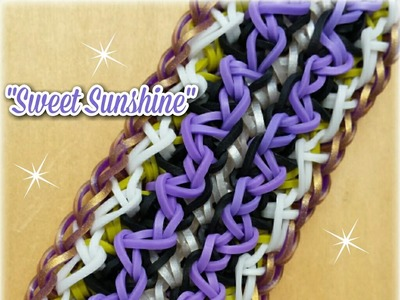 "New ""Sweet Sunshine"" Rainbow Loom Bracelet"