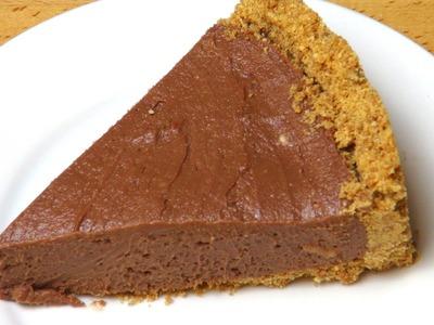 No Bake Nutella Cheesecake - RECIPE