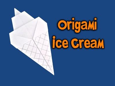 Origami - Sorvete (How To Make Origami - Ice Cream)