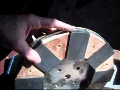 Permament magnet generator 3 phase