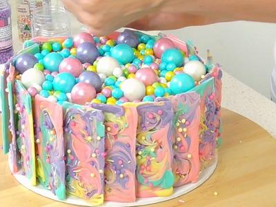 Rainbow Chocolate Cake - CAKE STYLE