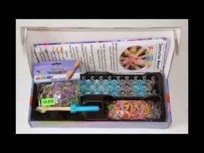 Rainbow Loom Kit and Tie Dye Rubber Bands [Toy]