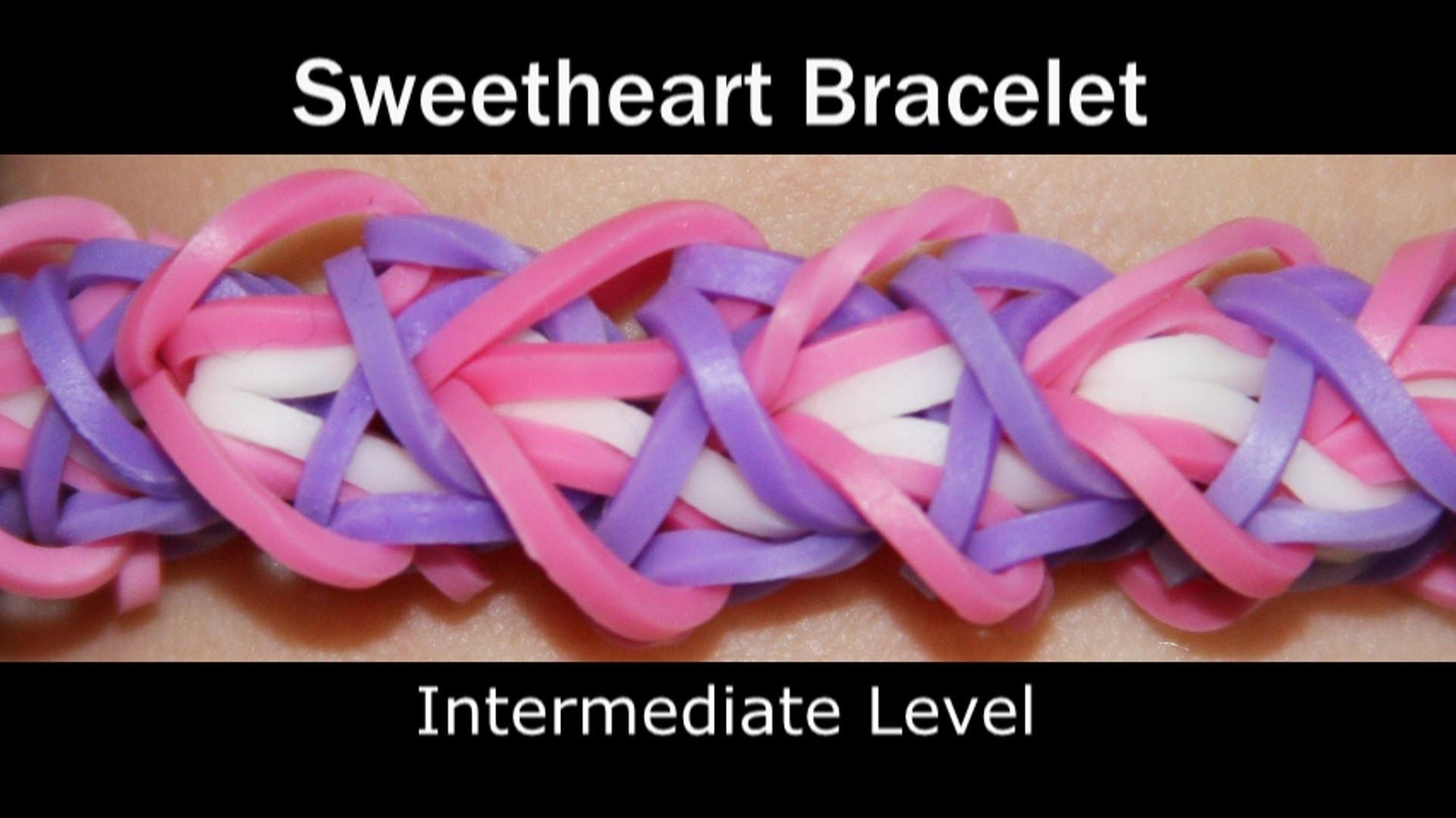 Rainbow Loom® Sweetheart Bracelet