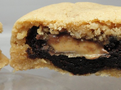 Recipes Using Cake Mixes: #17 Peanut Butter - Brownie Bites