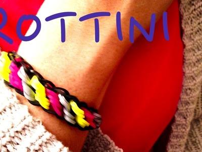 Rotini Bracelet Rainbow Loom Tutorial How To easy facile français