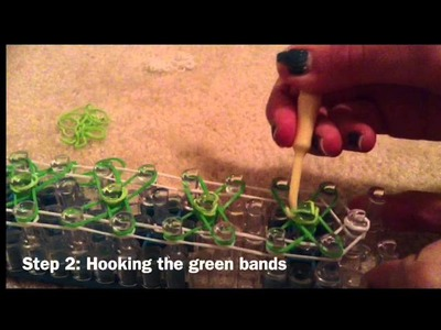 Shamrock Bracelet--Rainbow Loom
