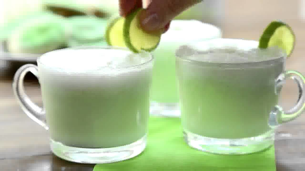 St Patricks Day Recipes How to Make Green Grog Punch