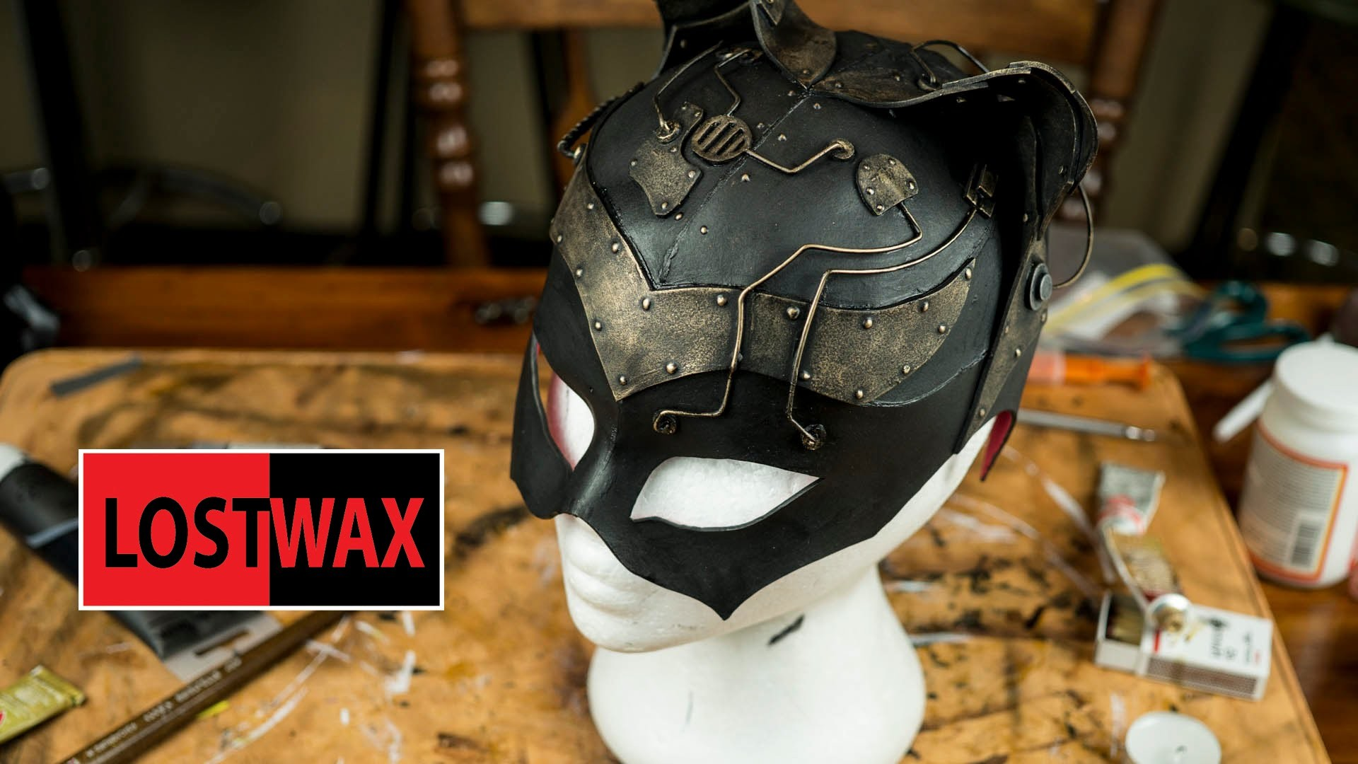 Steampunk Catwoman Mask DIY Steampunk Style