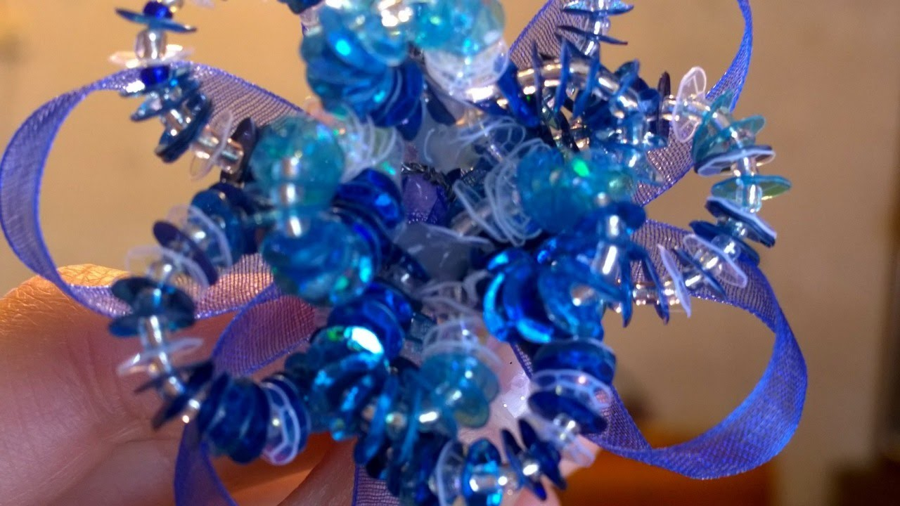 Create a Bright Flower Made of Sparkles - DIY Style - Guidecentral