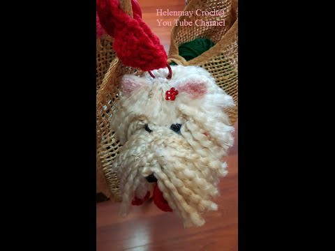 Crochet Westie Amigurumi Puppy Dog DIY Tutorial