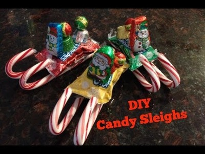 DIY Candy Sleighs - Cheap and Easy