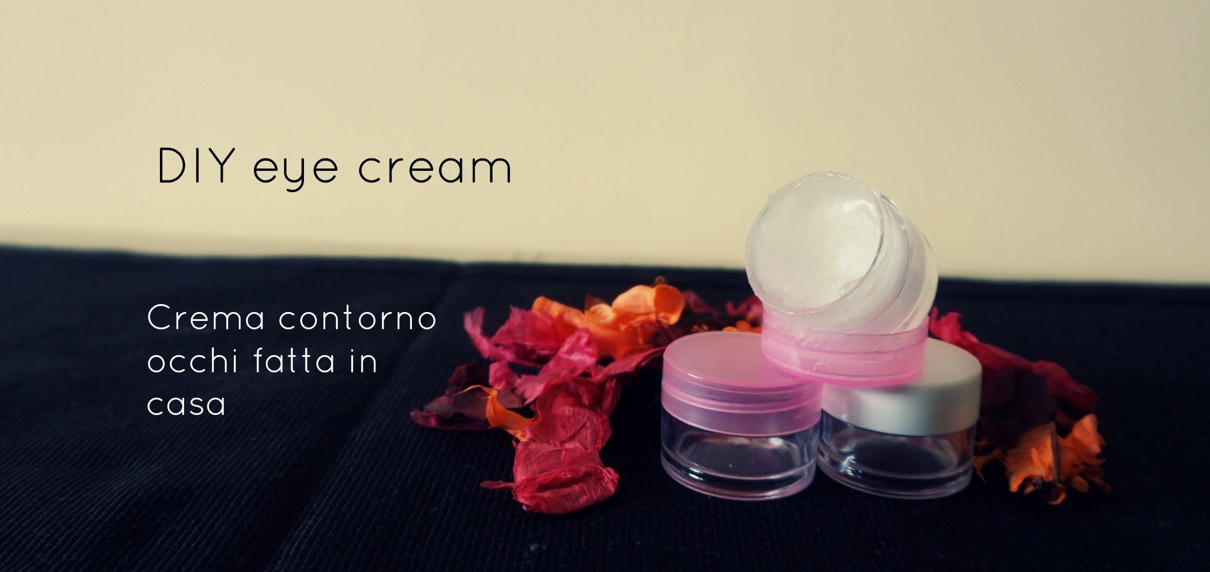 DIY homemade easy eye cream get rid of dark circles and wrinkles two ingredients, collagen boosting