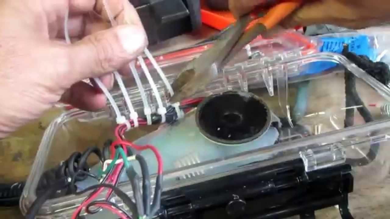 DIY (homemade) Underwater Metal Detector