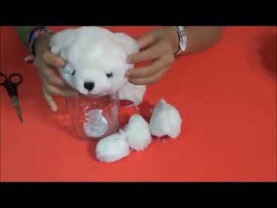 Diy Jar Bear Gift, Como hacer un regalo decorativo