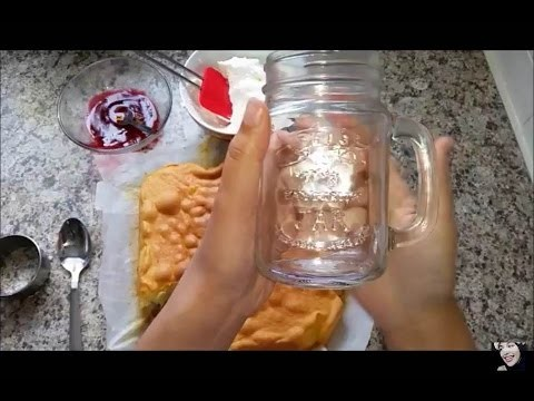 DIY: Vanilla Cake in a Jar!  [ Super easy and fun to make ]