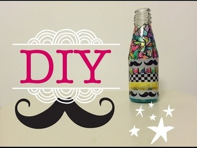 Glass painting on bottles | DIY | Up Cycling