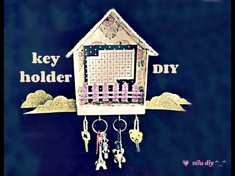 ♥ key holder DIY ♥