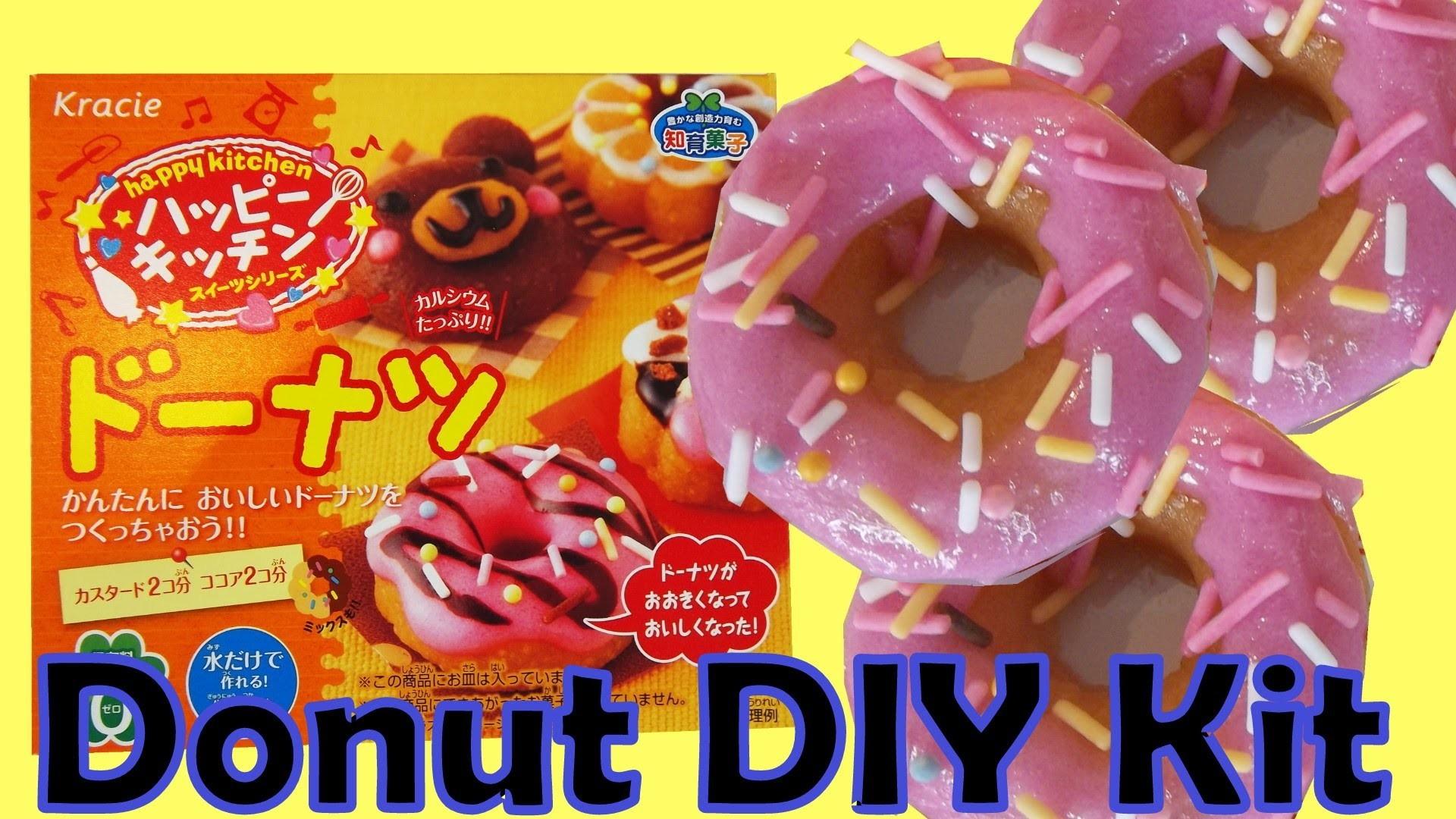 Kracie Popin' DIY Donut Happy Kitchen Candy Doughnut Kit