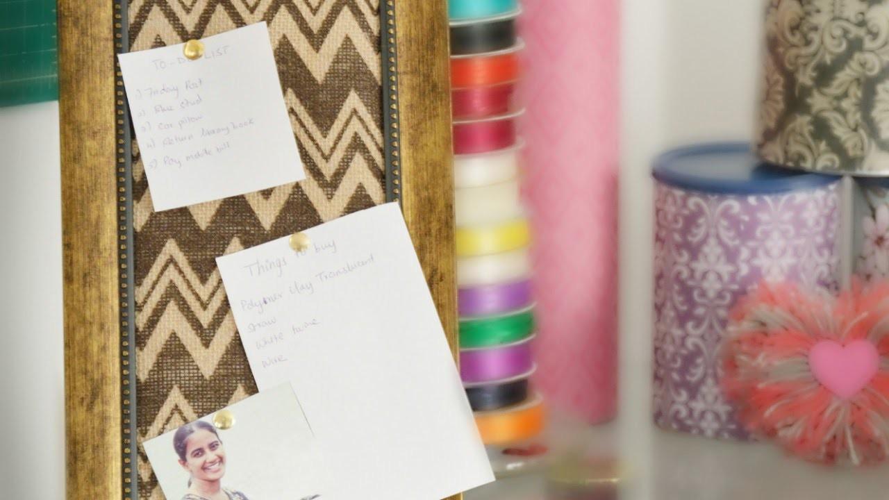 Make a Desk Memo Board on a Budget - DIY Home - Guidecentral