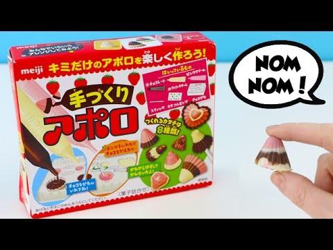 Meiji Make Your Own Chocolate DIY Set Kawaii Candy Strawberry Flavor