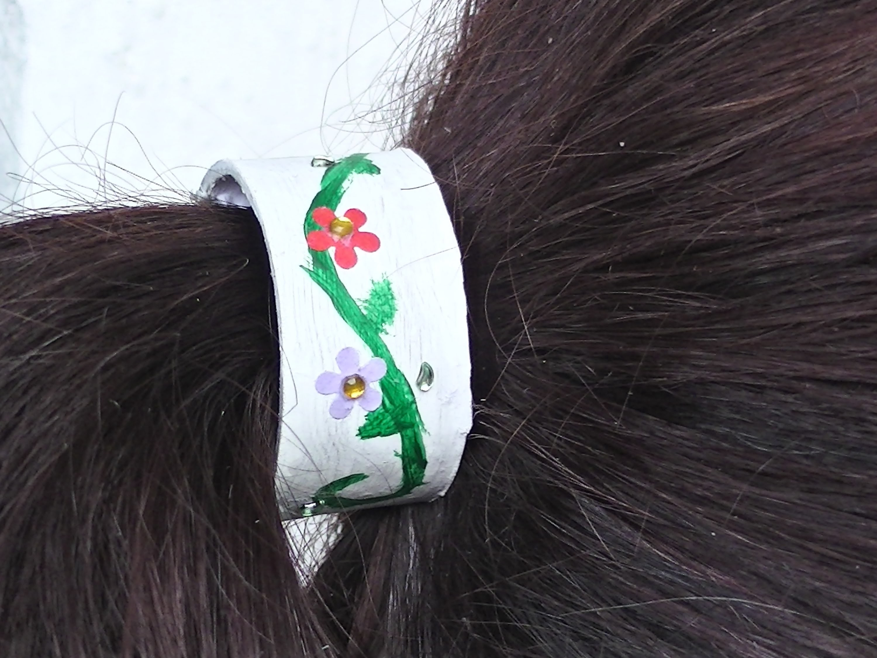 Ozdoba na gumičku .  hair decoration .  DIY