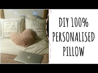 #DIY 100% Personalised Pillow Case