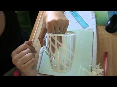 DIY: come decorare una tazzina. how to decorate a mug