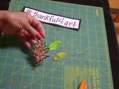 DIY Napkin Ring  Holder #thankful4art