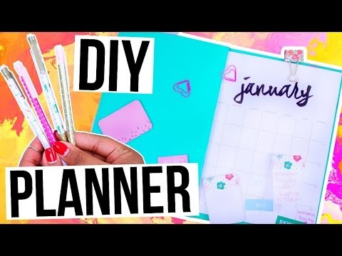 DIY Organization! Make Your Own Planner   TanaMontana100