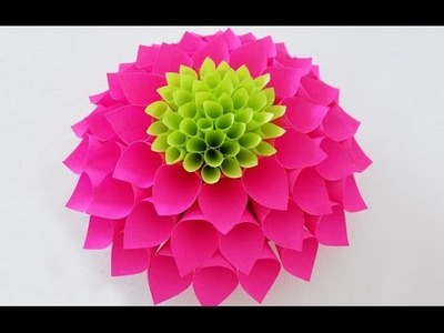 DIY Room Decor with Amazing Dahlia Flower | DIY Crafts | Home Decor Project