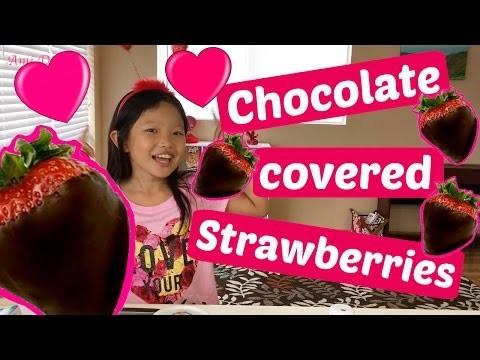 How to Make Chocolate Covered Strawberries | DIY Valentine's Day Dessert Recipe