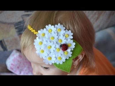 Make a Pretty Daisy Headband - DIY Style - Guidecentral