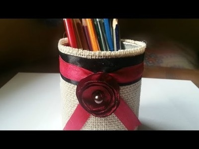 Make a Recycled Pen Holder - DIY Home - Guidecentral